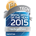 Digital Media of the Year - Top Tech Category 2015 by Marketing Magazine